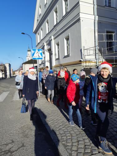Galeria Charytatywny Marsz Mikołajów dla Oskara 05.12.2018 r.