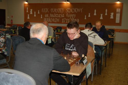 Galeria XXIX Turniej Szachowy im. Andrzeja Rippy
